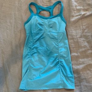Athleta Teal Tank Top